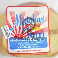 Roti Matahari Putih Pasuruan Camilan Kue Manis Cemilan Snack Sisir