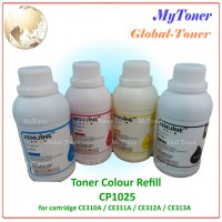 SERBUK TONER COLOR REFILL PRINTER CP1025 / CE310A / CE311A CP 1025