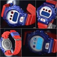 g shock captain america dw 6900 biru merah gshock amerika jam tangan