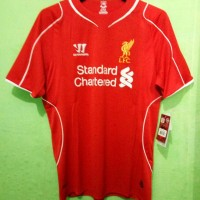 jersey original Liverpool home 2014/15 warrior original murah bnwt