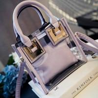 harga Tas kerja elegan mika bag in purple ungu transparan dior Import Tokopedia.com