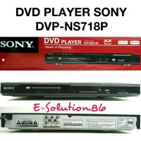 Dvd Player SONY DVP-NS718P CD, USB, MMC, SD CARD, MP3 Dvd Sony