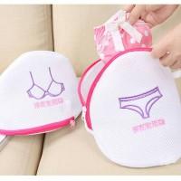 Jual Laundry Bra Bag (Tersedia untuk Bra dan Underwear) Murah