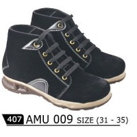 harga Sepatu Anak Laki-laki Boots Hitam Java Seven Amu 009 Tokopedia.com