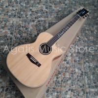 GOJEK ONLY | Gitar Akustik lakewood maple inlay CNC sunghuajung sign
