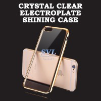 CRYSTAL CLEAR SHINING CASE for SAMSUNG J5 2015 Gold