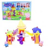 Mainan Anak Peppa Pig Pleasure Kingdom Amusement Park