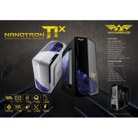 Armaggeddon T1X Gaming Case - Black & White