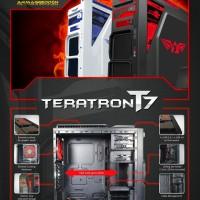 Armaggeddon T7 Gaming Case - Black & White