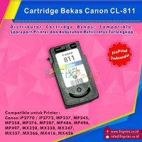 Cartridge Printer Canon IP2770 MP237 MP245 MP258 MP276 MP287 Color