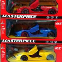 Rc Mobil La Ferrari Warna Merah / Biru / Kuning Skala 1:16