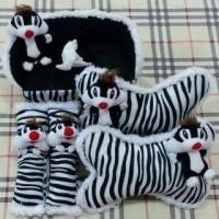 harga Set Car/Bantal Mobil Boneka Kucing Sylvester/Zebra/Hitam/Putih 3 in 1 Tokopedia.com