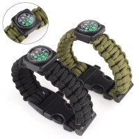 Jual Gelang Tactical Paracord Survival Bracelet With Magnesium Original Murah