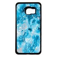Case Casing Samsung Galaxy C5 Case Hardcase Motif Batik Bunga 24