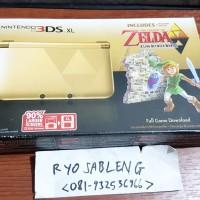 NINTENDO 3DS XL ZELDA LIMITED EDITION GOLD - BARU BRAND NEW