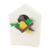 Ikea Starholk ~ Jam Dinding Kukuk Hiasan Burung | Cuckoo Wall Clock