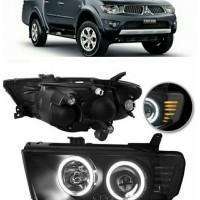 harga Projector - Lampu Depan Mitsubishi Strada Triton 2008-2014 (SET) Tokopedia.com