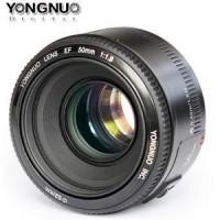 harga Lensa Yongnuo Ef 50mm F1.8 For Canon - Prime Lens / Fix Lens Tokopedia.com