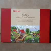 ATK0035 (isi72) Greebel artists oil pastels 72 COLORS krayon grebel sd