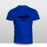Kaos Baju Pakaian MOBIL NISSAN X-TRAIL SILUET Murah
