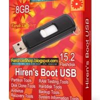 Flashdisk Hiren's Boot USB 8GB Flashdisk Tool Wajib Teknisi Komputer
