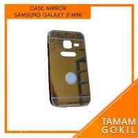 MURAH! Case Mirror Samsung Galaxy J1 Mini Metal Alumunium Bumper