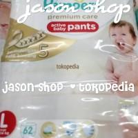 harga Pampers bayi Premium Care Pants size L isi 62 pcs Tokopedia.com