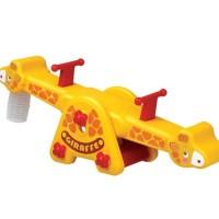 Mainan Anak Jungkat-Jungkit Giraffe See Saw