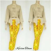 Setelan Batik Solo / Kebaya Batik Tenun Skirt