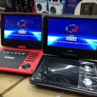"""Dvd Portable Merk Rinrai Ukuran 9"""" Bisa Radio + Bisa TV + Bisa Game"""