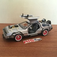 Diecast Welly | Miniatur Mobil Time Machine Skala 1/24