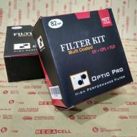 Filter Kit Optic Pro (Uv + Cpl + Fld) 82mm