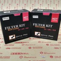 Filter Kit Optic Pro (Uv + Cpl + Fld) 40.5mm