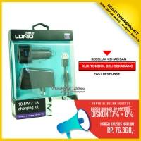 harga Usb Ldnio Travel Charging Kit 3 In 1 Dl - Ac318 Smartphone Tablet Pc Tokopedia.com