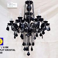 harga Lampu gantung hias chandelier solid black/6 Tokopedia.com