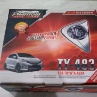 > Lampu Mobil Foglamp + Ring Agya / Ayla Phantom Baru   Aksesori