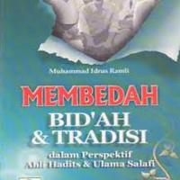 Jual Buku MEMBEDAH BIDAH DAN TRADISI   Toko Buku Aswaja Semarang