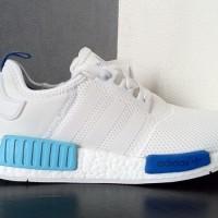 harga sepatu sport couple casual running adidas nmd runner full white Tokopedia.com