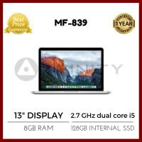 """BNIB Macbook Pro Retina Display MF839 - 13"""" Dual Core i5 SSD 128GB"""