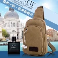 harga SB002 Tas Sling Bag Kanvas Pria Earphone Hole Selempang Tokopedia.com