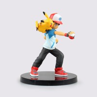 harga Anime Pokemon Ash Ketchum Pikachu PVC Action Figure Tokopedia.com