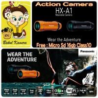PANASONIC HX-A1 ACTION CAMERA / PANASONIC HX-A1 WEARABLE ACTION CAM HD