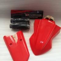 x ride paket spakbor ksr + tail + karet shock