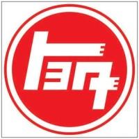 Stiker Logo Toyota Klasik Bulat