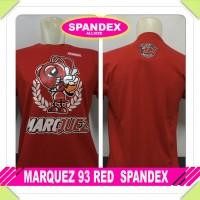 kaos spandex merah marc marquez 93 mm baby alien motoGP distro tshirt