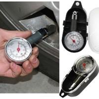 Alat Ukur Pengukur Tekanan Angin Ban Mobil, Motor Tire Pressure Gauge