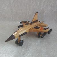 harga Miniatur Pesawat Tempur Bahan Kayu Tokopedia.com