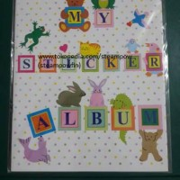 Buku Stiker / My Sticker Album Book / Stationery