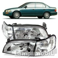 harga Crystal - Lampu Depan Toyota Corolla Great 1992-1996 (SET Dengan Sein) Tokopedia.com