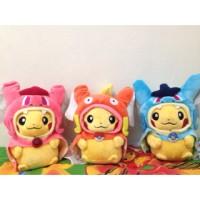 harga Pikachu Cosplay Magicarp Red Gyarados Hoodie Boneka Pokemon Plush Tokopedia.com